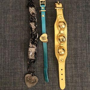 👑Juicy Couture 3 Bracelet Bundle👑